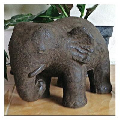 Elefant, Steinguß