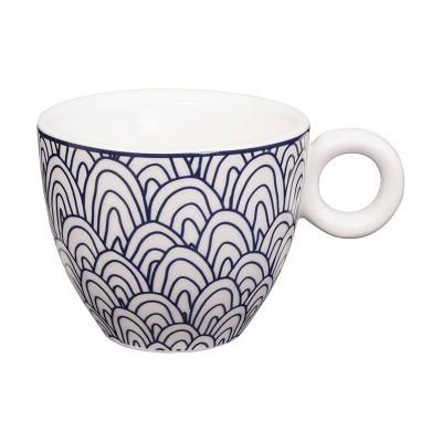 Espresso Tasse 'Tomekon Seigaiha Blue'