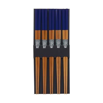 Essstäbchen-Set - Bambus Blau
