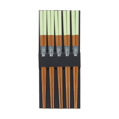 Essstäbchen-Set - Bambus Grün