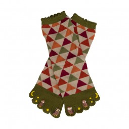 Fünf-Zehen-Socken Fukurou
