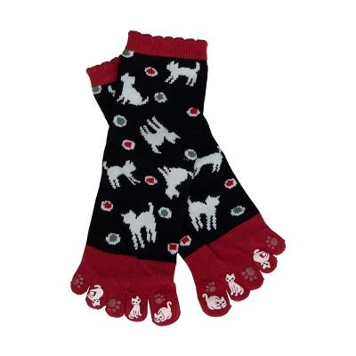 Fünf-Zehen-Socken Neko Mizutama