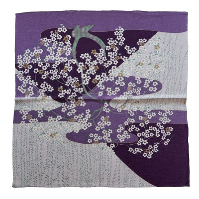 Furoshiki Nachtblüte 68 x 68 cm
