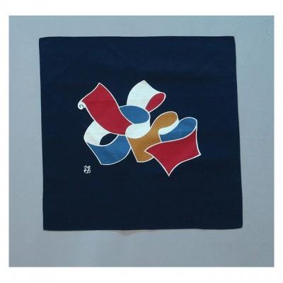 Furoshiki Serizawa Nyo bunt 55 x 55 cm,Baumwolle