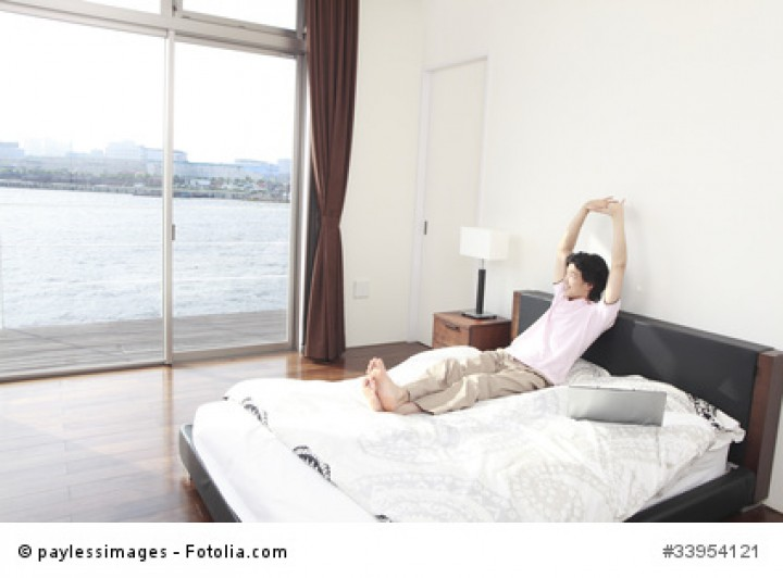 futonbetten der japanische stil erobert deutsche. Black Bedroom Furniture Sets. Home Design Ideas