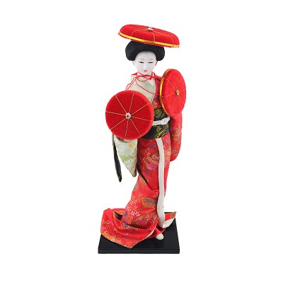 Geisha Figur beim Huttanz