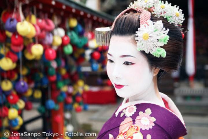 Faszination Geisha – japanische Schönheit in Vollendung