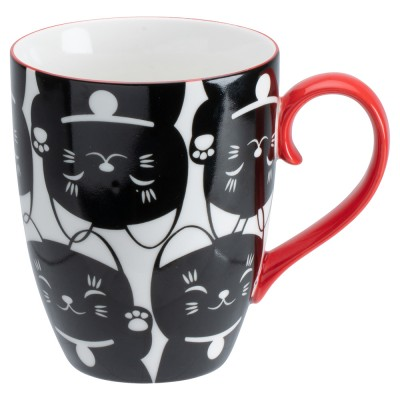 Geschenkset Teetasse 'Maneki-neko'