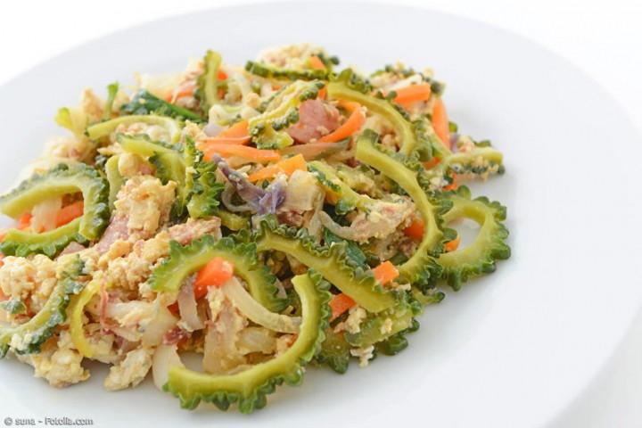 Rezept aus Okinawa: Goya Champuru – das Essen der Hundertjährigen