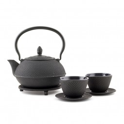 Gusseisernes Tee Set - Arare 0,9L