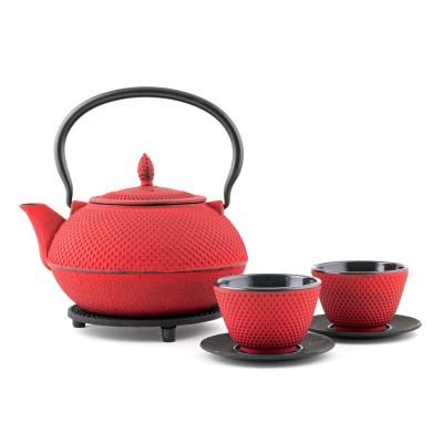 Gusseisernes Tee Set - Arare 1,2L