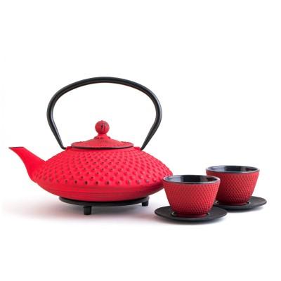 Gusseisernes Tee Set - Chiyo 1,2L
