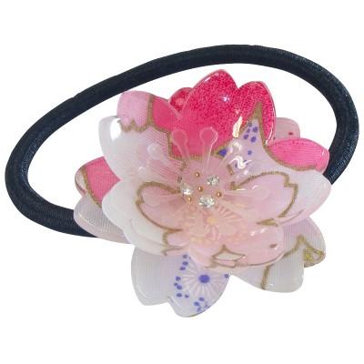 Haargummi - Kirschblüte pink