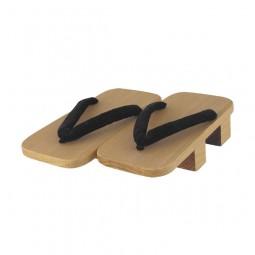 Herren - Geta aus Kiri-Holz