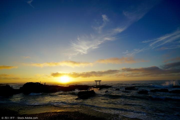 Ibaraki in Japan - Anglerfisch, Blumenpark und Surf-Strand
