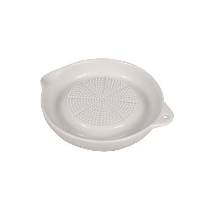 Ingwer-Reibe - Keramik weiß