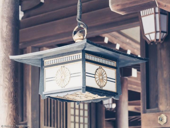 Asiatische Lampen verzaubern mit stimmungsvoller Beleuchtung