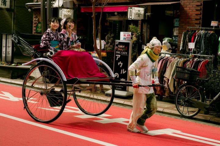 Rikscha – eine japanische Erfindung wird weiterentwickelt