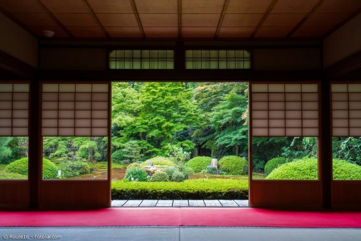 Akribisch geplante Asymmetrie – einen japanischen Garten gestalten