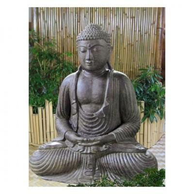 Japanischer Buddha, Lavaguß