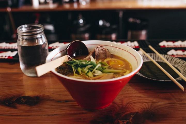 Japanisches Ramen – japanisches Fast-Food und kulinarischer Trend