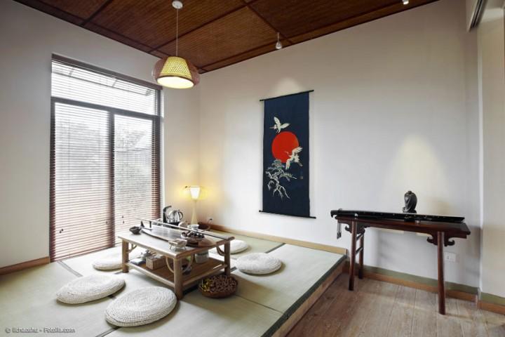 Japanische Rollbilder als stilvolle Dekoration