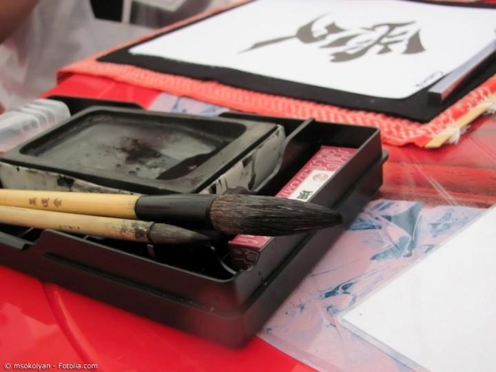 Shodo – Kalligraphie auf japanische Art