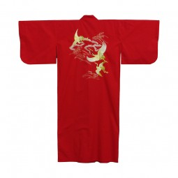 Kimono - Tsuru bestickt