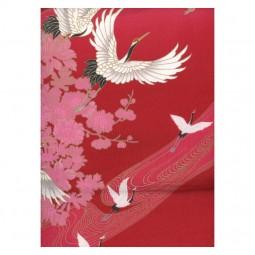 Kimono Tsuru rot BW 55