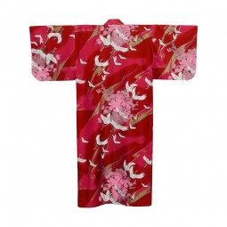 Kimono Tsuru rot BW 55''