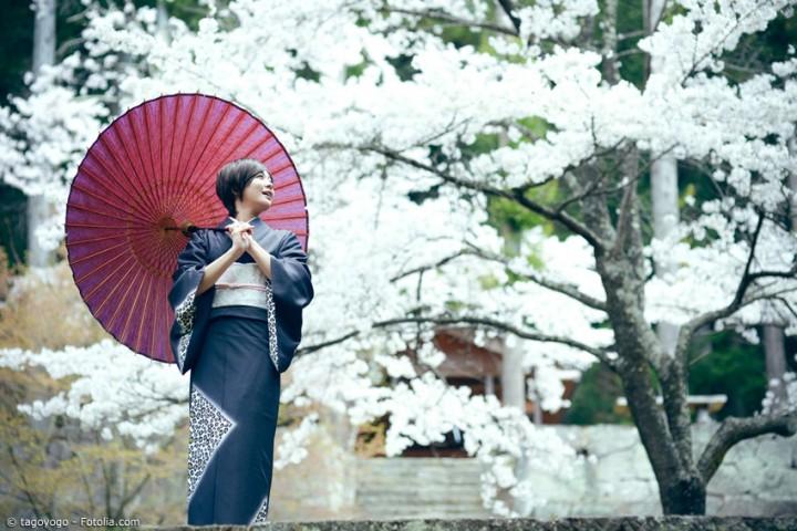 Japanischer Kimono – Nationalgewand im Wandel der Jahrhunderte