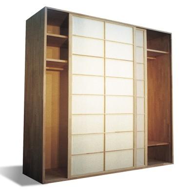 Kleiderschrank System - Shoji Buche - B250 2 Türen