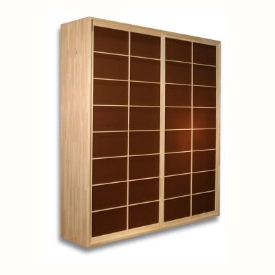 Kleiderschrank System - Shoji Buche - B203 2 Türen
