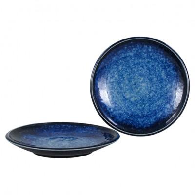 Kleiner Teller Subaru blau