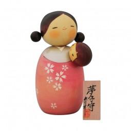 Kokeshi Yumekomori(Babysitters Traum) H=18,5cm