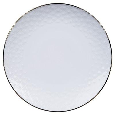 Kuchenplatte - Japan weiß