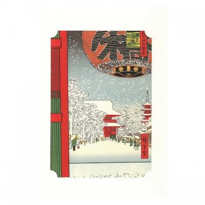 Kunstdruck - Asakusa Kaminarimon Hiroshige