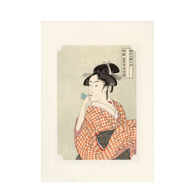 Kunstdruck - Bijin von Utamaro