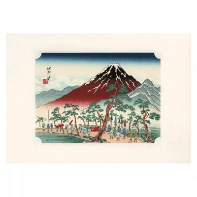 Kunstdruck - Daimyo-Gyoretsu