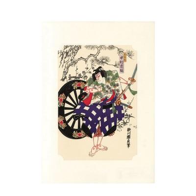 Kunstdruck - Kunisada Kabuki