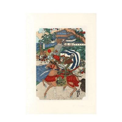 Kunstdruck - Kunisada Kassen