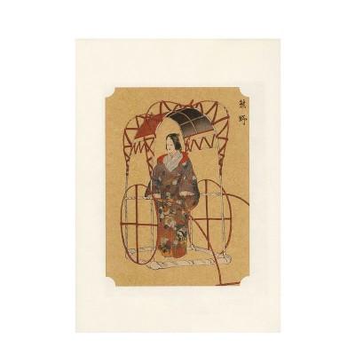 Kunstdruck - Noh Kumano