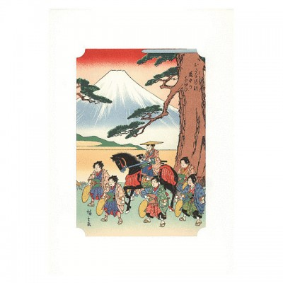 Kunstdruck - Osana-Gyoretsu Hiroshige