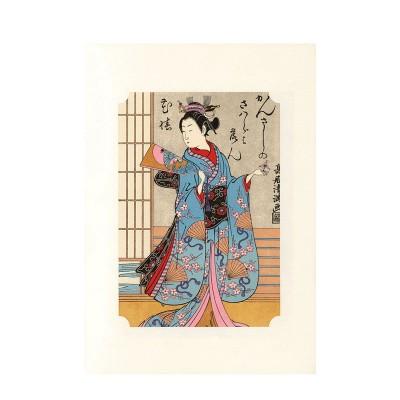 Kunstdruck - Torii Hanetsuki