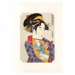 Kunstdruck - Utamaro Bijin Dojoji
