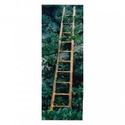 Leiter aus Bambus dunkel