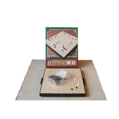 Magnetset, japanisch, klein, 19x19-Brett, 23x25cm