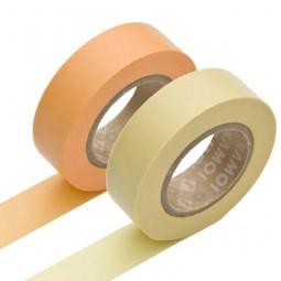 Masking Tape - Apricot & Custard