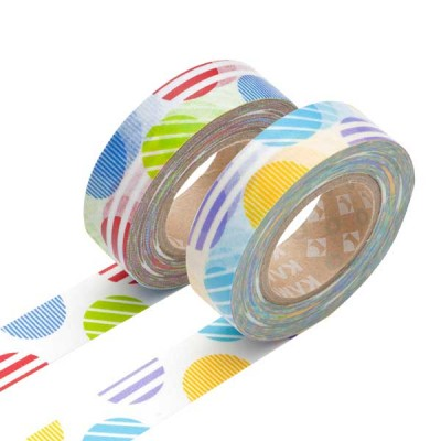Masking Tape - Arch, red & Arch, purple
