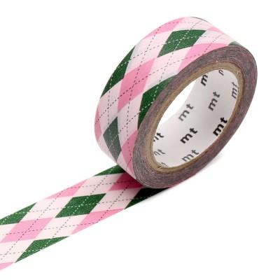 Masking Tape - Argyle Pink